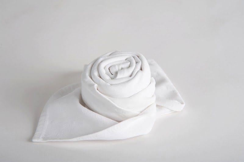 Textil szalvéta fehér 0