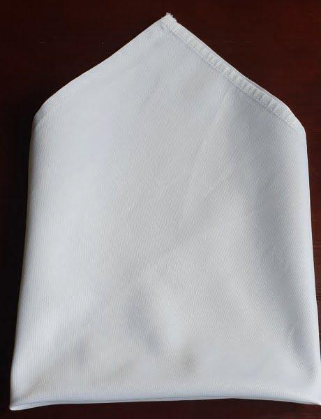 Textil szalvéta fehér 3