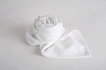 Textil szalvéta fehér