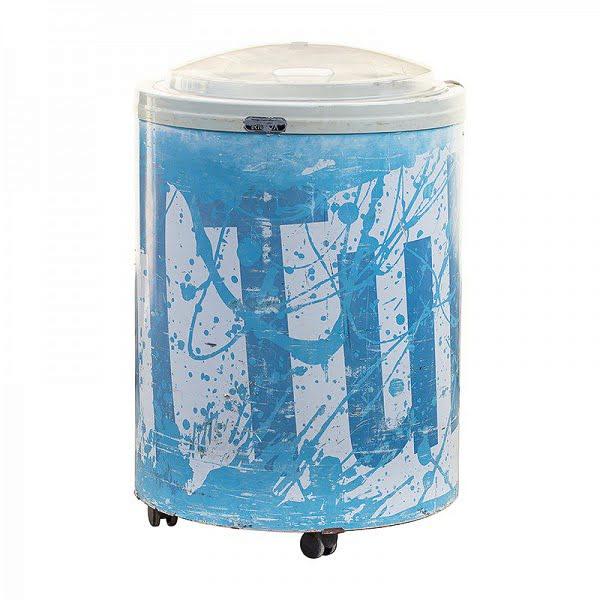 120 l-es gurulós, üdítős hűtő