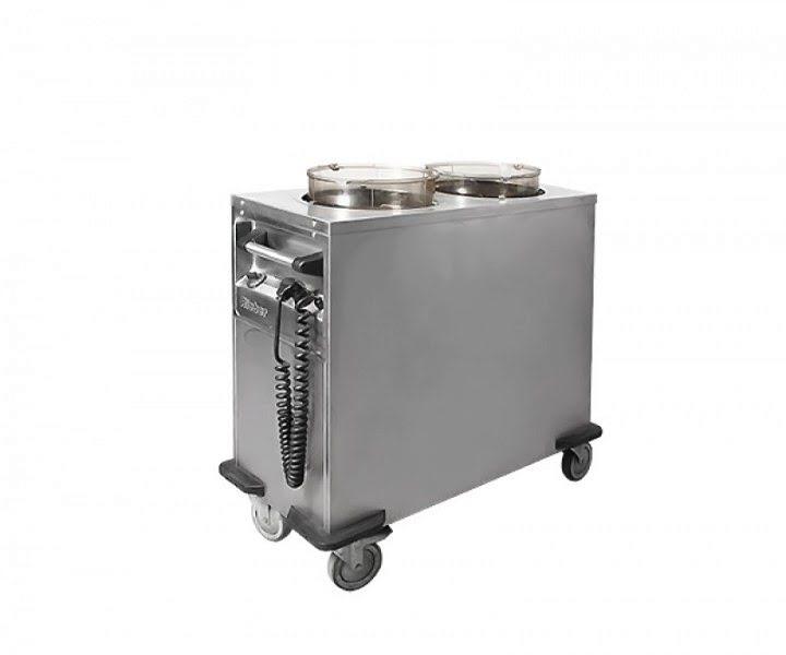 Tányér melegítő, tányér melegentartó 220v, 2 aknás