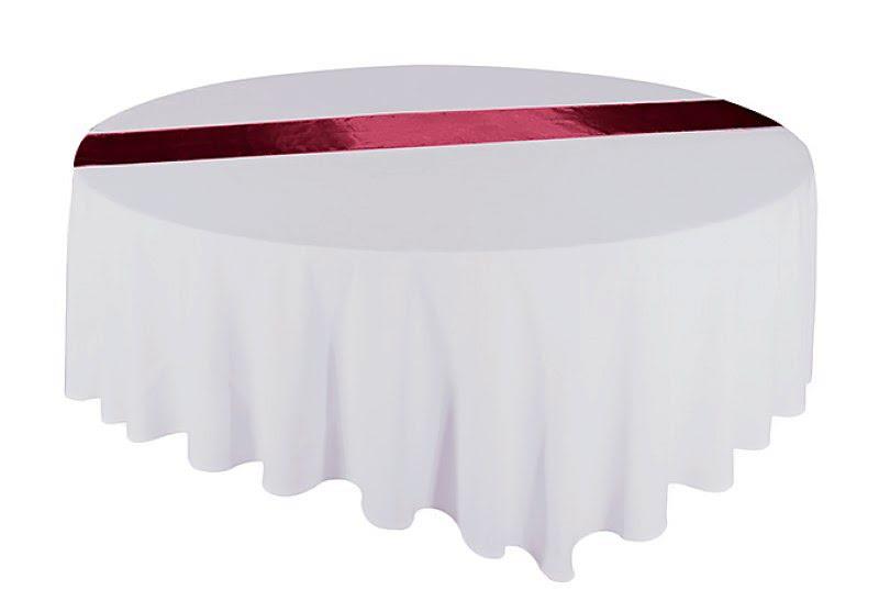 Átvető, asztalcsík bordó színű