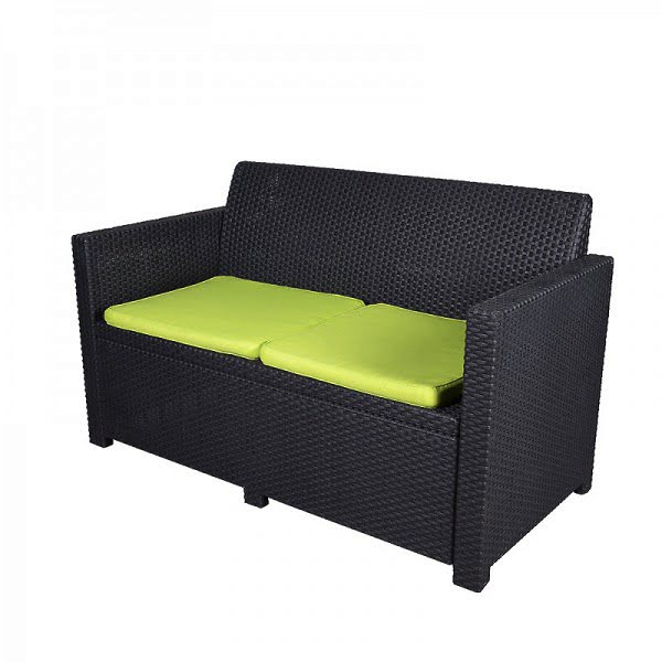 Lounge Kanapé, rattan kanapé 0