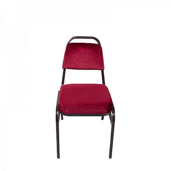 Bankett szék, alacsony támlás,  kárpitozott konferencia szék 0