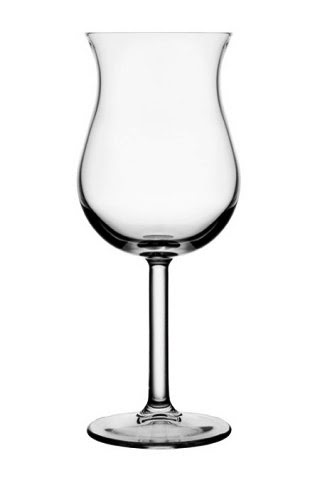 Tulipán pohár, koktélos pohár 375gr.