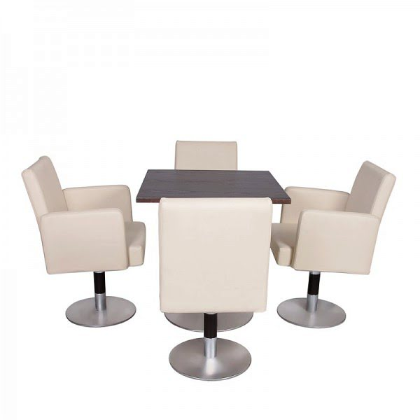 Fotel garnitúra, kávéházi garnitúra (1 asztal + 4 fotel) 0