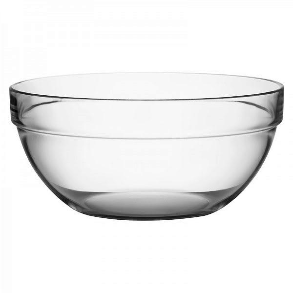 Salátástál üveg 29 cm