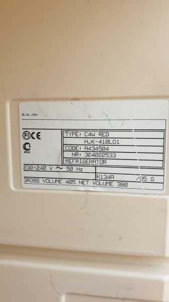 Borhűtő Üvegajtós 410 literes 0