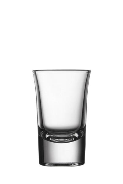 Szeszes pohár, pálinkás, kiscső pohár 4cl