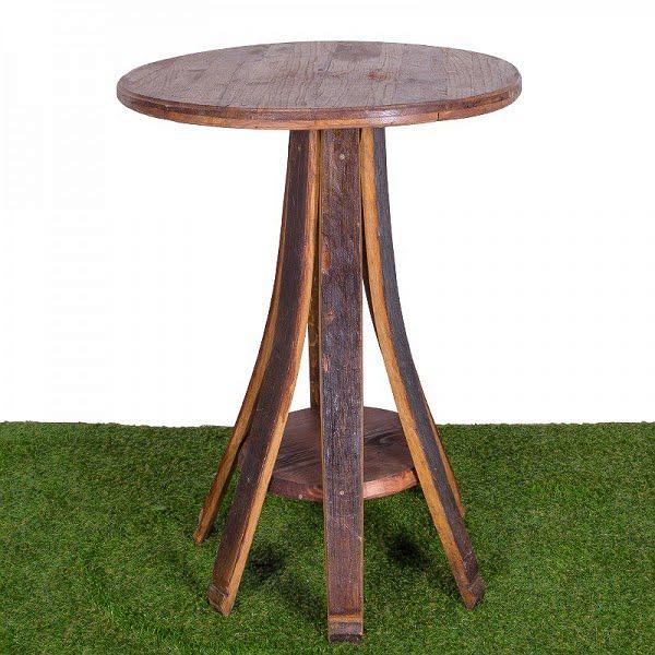Boros hordó könyöklő asztal