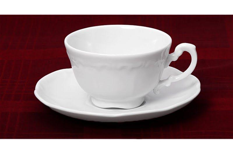 Zsolnay kávés csésze + alj