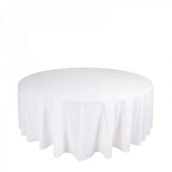 Körabrosz 320 cm fehér színű