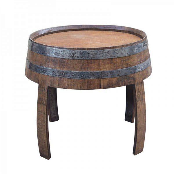 Boros hordó asztal
