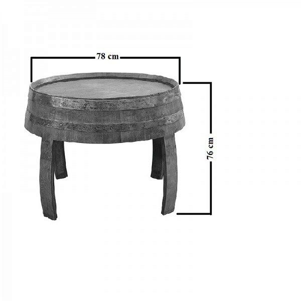 Boros hordó asztal 0