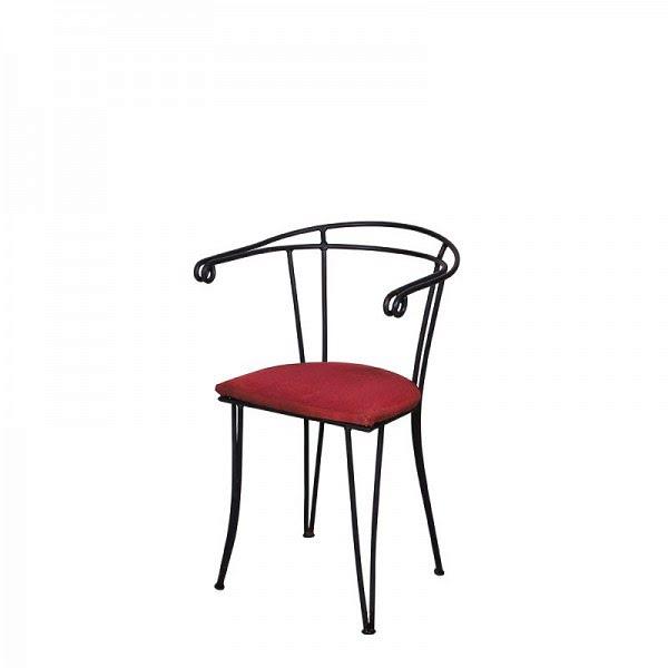 Kovácsoltvas szék, kávéházi szék