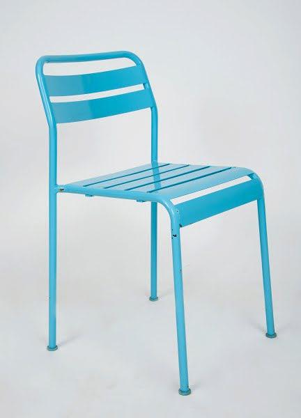 Fém szék kék