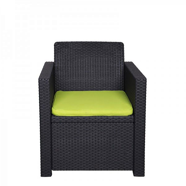 Lounge fotel, rattan fotel