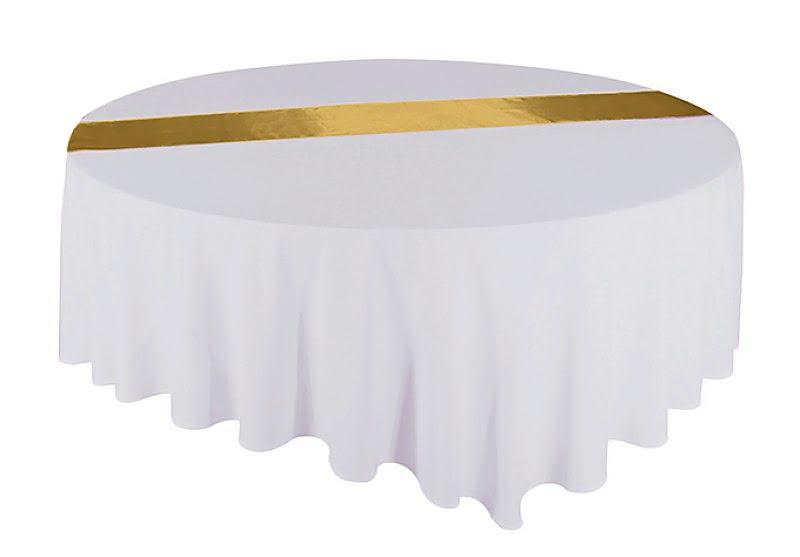 Átvető, asztalcsík arany színű