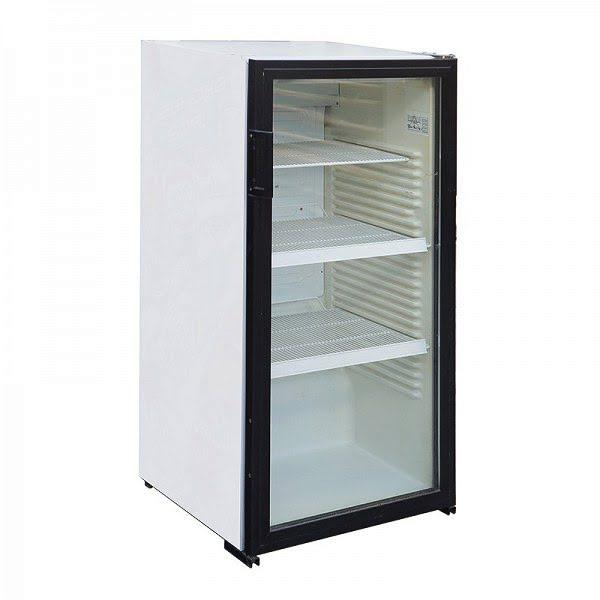 Üvegajtós állóhűtő 200 l-es
