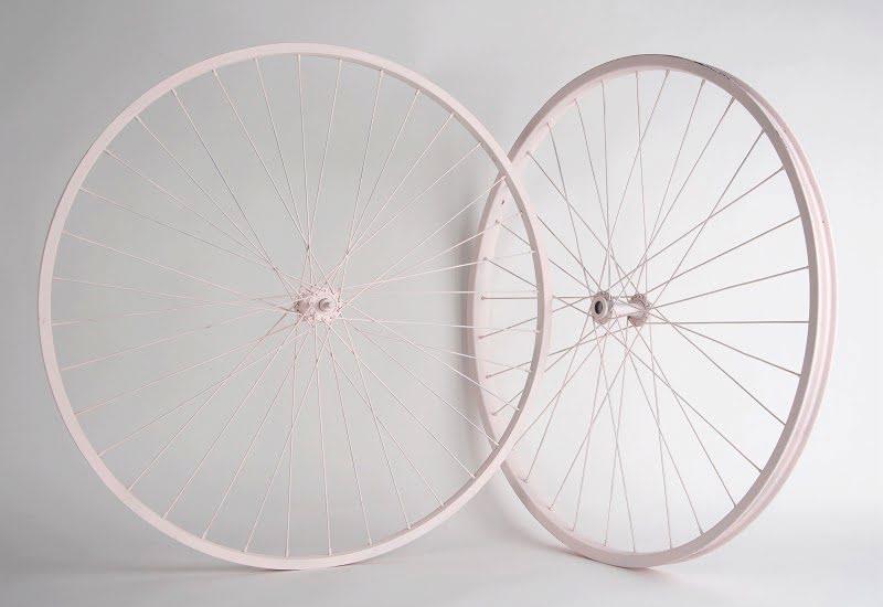 Kerékpár kerékpár , Mr &Mrs Dekor kerék rózsaszín