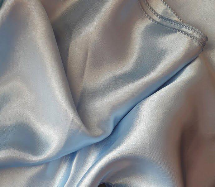 Átvető asztalcsík babakék színű
