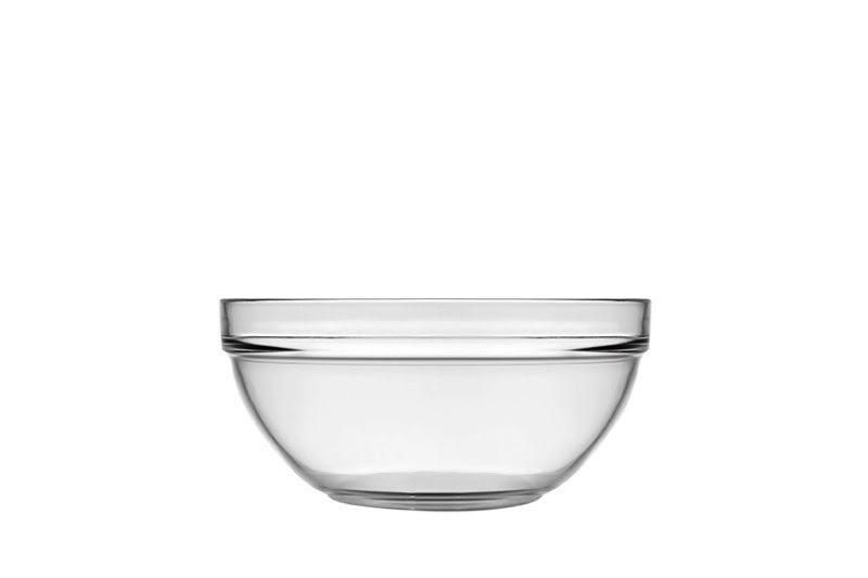 Salátástál üveg 23 cm