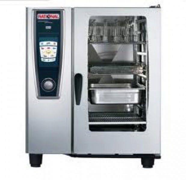 Kombi gőzpároló, kombi pároló, Rational sütő, Légkeveréses sütő, 10 tálcás, 19KW, 380V, 32A 0